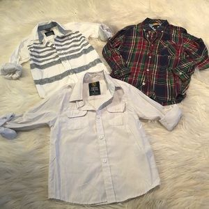 Tommy Hilfiger button up and shirt bundle